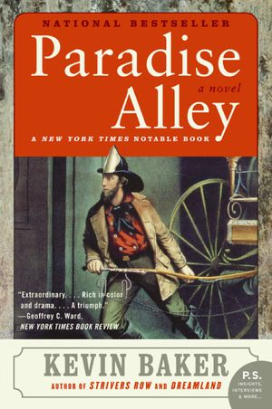Paradise Alley book image
