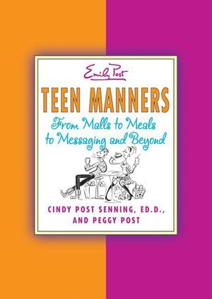Teen Manners book image