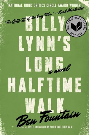 Billy Lynn's Long Halftime Walk book image