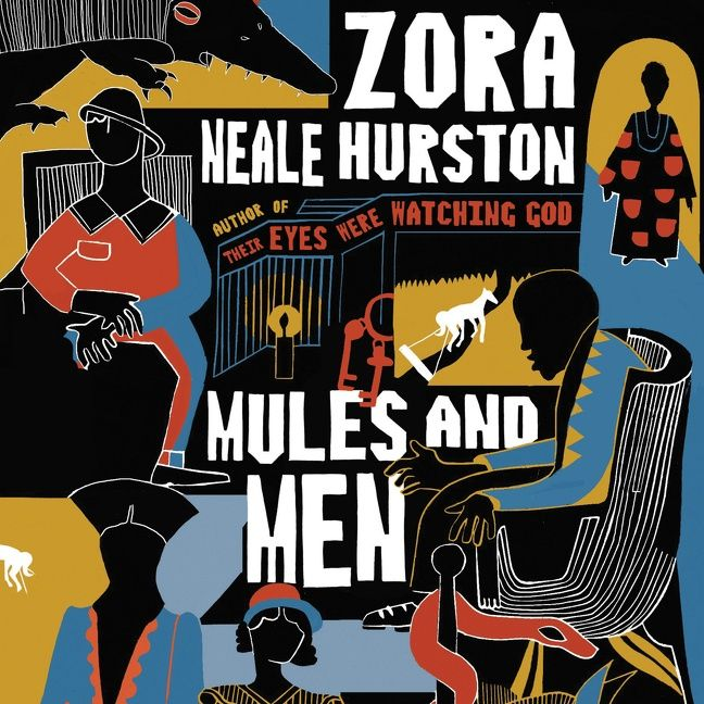 Mules and men zora neale hurston digital audiobook enlarge book cover fandeluxe Choice Image