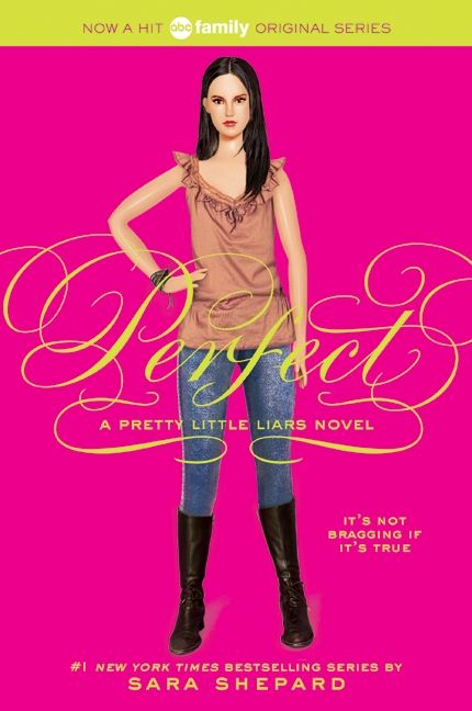 Pretty Book Cover Names ~ Pretty little liars perfect sara shepard paperback