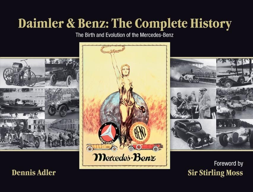 Daimler And Benz: The Complete History   The Birth And Evolution Of Mercedes  Benz | Harper Collins Australia : HarperCollins Australia