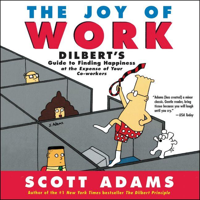 Joy of work scott adams digital audiobook enlarge book cover fandeluxe Image collections