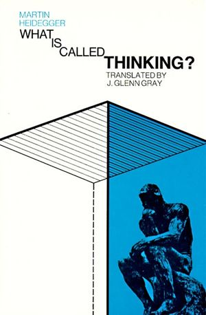 What Is Called Thinking? book image