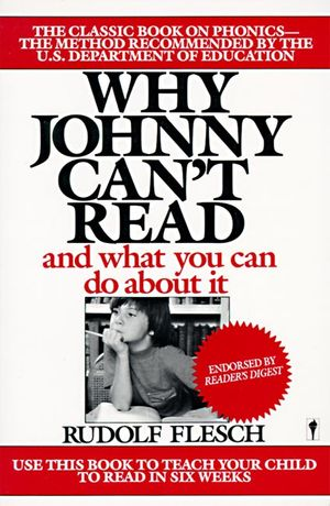 Why Johnny Can't Read? book image