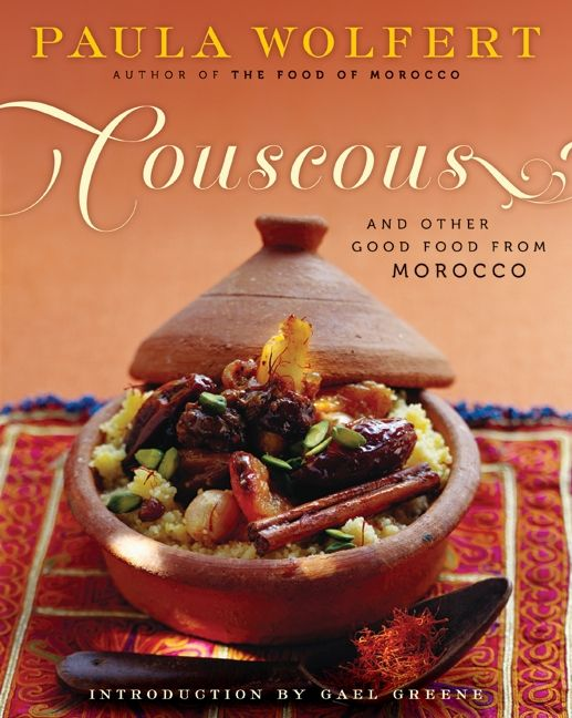 Food Book Cover History : Couscous and other good food from morocco paula wolfert