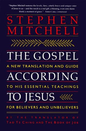 The Gospel According to Jesus book image