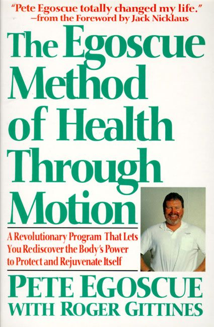 The egoscue method of health through motion pete egoscue paperback read a sample enlarge book cover fandeluxe Images
