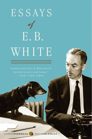Essays of E. B. White book image