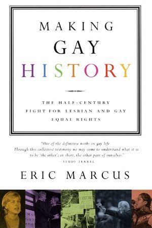 Making Gay History book image