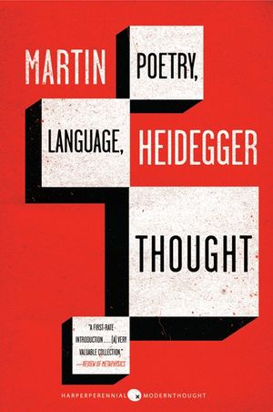 Poetry, Language, Thought book image