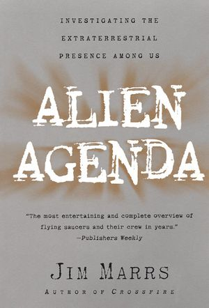Alien Agenda book image