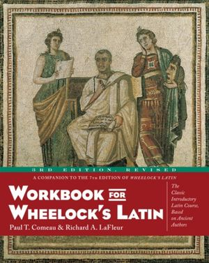 Workbook for Wheelock's Latin, 3rd Edition, Revised book image