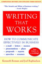 Writing That Works, 3rd Edition