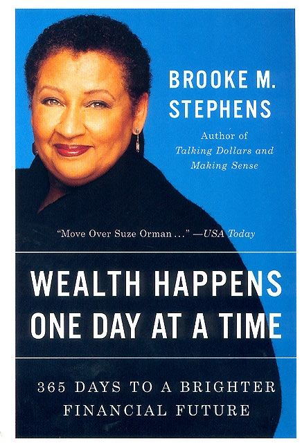 Book cover image: Wealth Happens One Day at a Time: 365 Days to a Brighter Financial Future