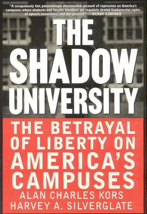 The Shadow University book image