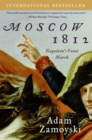 Moscow 1812 book image
