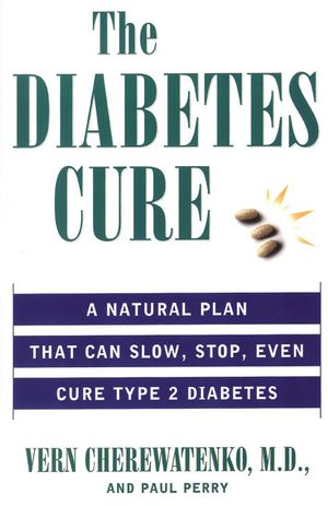 The Diabetes Cure book image