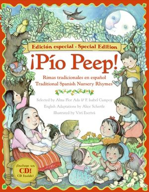 Pio Peep! Traditional Spanish Nursery Rhymes Book and CD book image