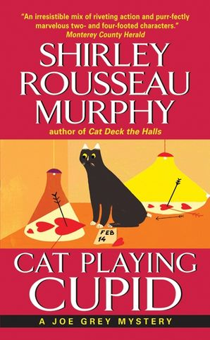 Cat Playing Cupid Paperback  by Shirley Murphy