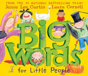 Big Words for Little People book image