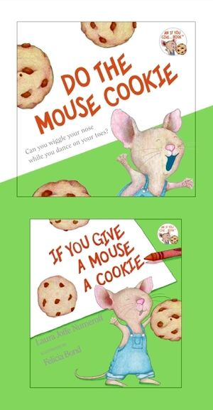 If You Give a Mouse a Cookie Mini Book and CD book image