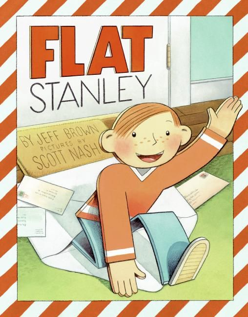 Flat Stanley (picture book edition) - Jeff Brown - Hardcover