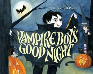 Vampire Boy's Good Night book image