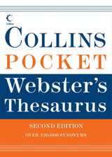 Collins Pocket Webster's Thesaurus. 2e