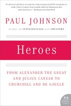 Heroes Paperback  by Paul Johnson