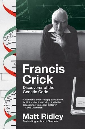 Francis Crick book image