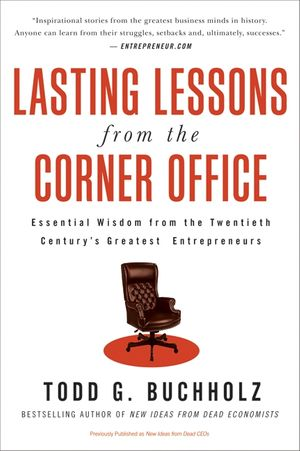 Lasting Lessons from the Corner Office book image