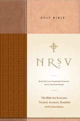 NRSV Standard Bible w/Apoc (tan/brown)