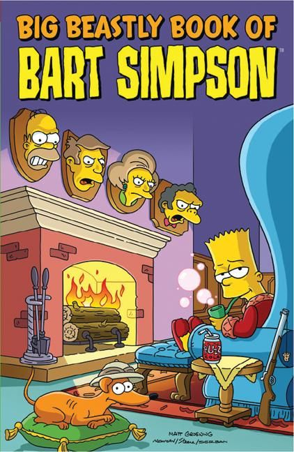 Big beastly book of bart simpson matt groening paperback read a sample fandeluxe Image collections