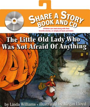 The Little Old Lady Who Was Not Afraid of Anything Book and CD book image