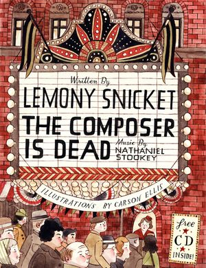 The Composer Is Dead book image