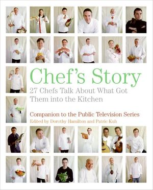 Chef's Story book image
