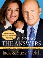 Book cover image: Winning: The Answers: Confronting 74 of the Toughest Questions in Business Today
