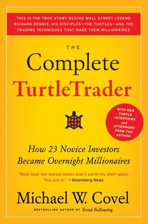 The Complete TurtleTrader book image