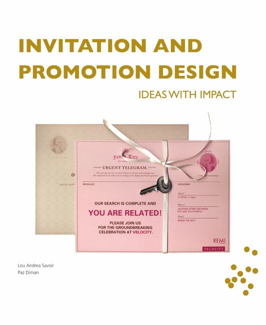 Invitation and promotion design paz diman lou andrea savoir invitation and promotion design stopboris Image collections