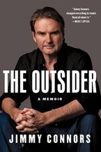 The Outsider Hardcover  by Jimmy Connors