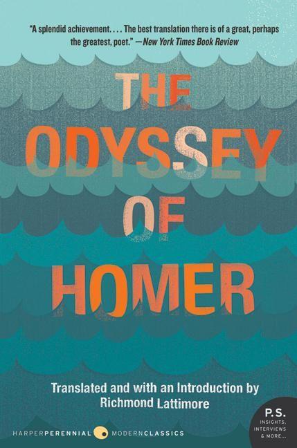 The Odyssey Of Homer Richmond Lattimore Paperback
