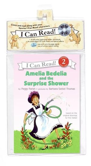 Amelia Bedelia and the Surprise Shower Book and CD book image