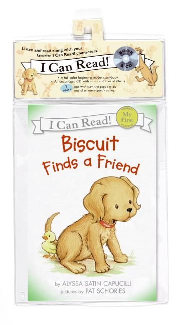 Biscuit finds a friend book and cd alyssa satin capucilli cd audio enlarge book cover fandeluxe Images