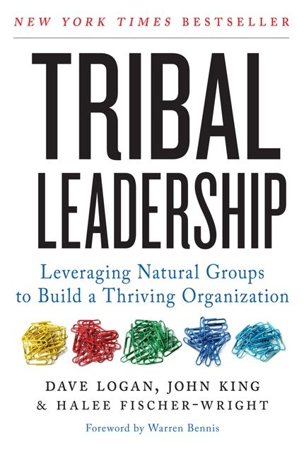 Book cover image: Tribal Leadership: Leveraging Natural Groups to Build a Thriving Organization | New York Times Bestseller