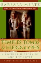 Temples, Tombs, and Hieroglyphs Paperback  by Barbara Mertz