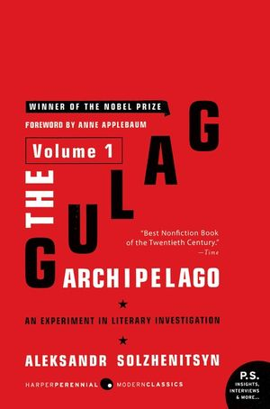 The Gulag Archipelago Volume 1 book image
