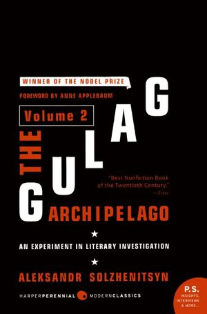 The Gulag Archipelago Volume 2 book image
