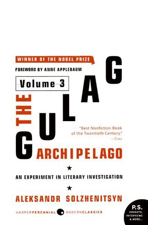 The Gulag Archipelago Volume 3 book image
