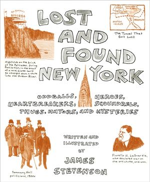 Lost and Found New York book image